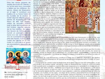 Boletín, 20 Domingos después de Pentecostés