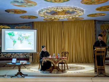 Disertación del Obispo Kirilo en Montenegro: una visión general de las relaciones entre teología y c