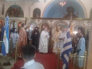 El Obispo Kirilo participó de la Celebración del Bicentenario de la Independencia Helena
