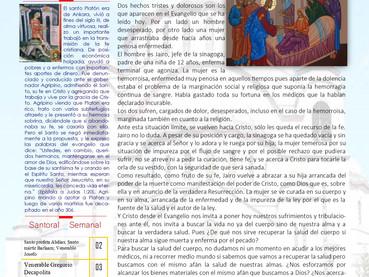 Boletín, Domingo 24 después de Pentecostés