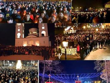 Este domingo en San Sava: Moleben (oración de petición) por situación en Montenegro y descubrimiento