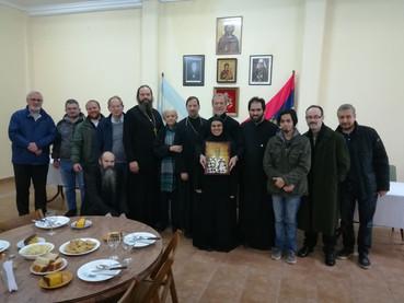 En el día de Vidovdan se celebró la Divina Liturgia presidida por el Metropolita Ignacio del Patriar