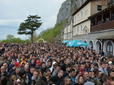 San Basilio el Milagroso de Ostrog - fotos de la celebración en Montenegro