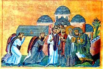 Traslado de las reliquias de san Juan Crisóstomo