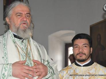 Nuevo Hierodiácono Amfilohije, para la diócesis de Buenos Aires, Centro y Sur América