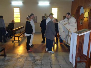 Pascua en Venado Tuerto y fotos de la construcción del salón parroquial y casa parroquial