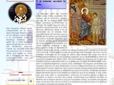 Boletín dominical, 35 después de Pentecostés