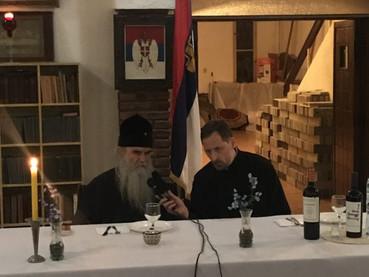 El Metropolita Amfilohije dio una disertación sobre los Santos Nuevos Mártires Reales Rusos en el Ce