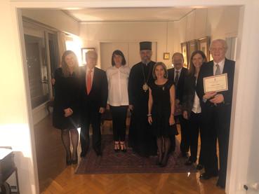 Distinciones en la Embajada de Serbia a miembros de la Legislatura, con motivo de la Declaración de