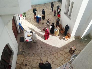 Se celebró el Domingo de Ramos en Buenos Aires y con una Liturgia al aire libre