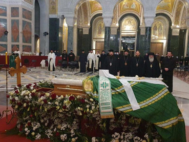 Despedida orante al Patriarca de Serbia Irinej