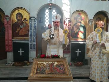Celebración de la Resurrección del Señor, en la Catedral Ortodoxa Serbia de Buenos Aires