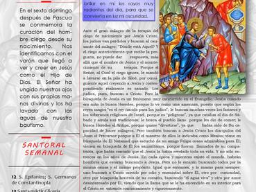 Boletín Dominical, Domingo del Ciego