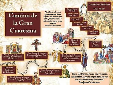Oraciones que se rezan el día del DOMINGO 4 DE LA GRAN CUARESMA