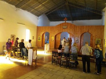 Литургија у Храму Светог Архангела Михаила уВенадо Туертоу