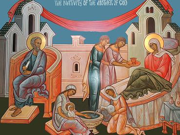 Nacimiento de la Santísima Madre de Dios