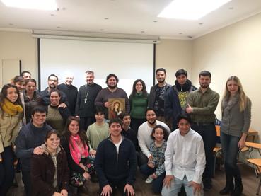 Reunión del Grupo Juvenil Ortodoxo en Santiago, Chile