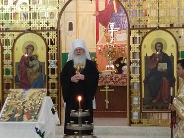Carta de Metropolitano TIKHON de la OCA al Patriarca Ireneo de Serbia.