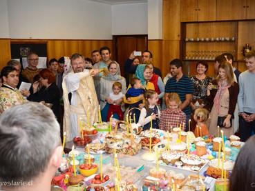 Васкршњи празници у парохији Св.Николаја Жичког у Сантјагу де Чиле