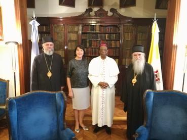 Visita al Nuncio Apostólico