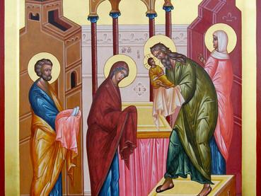 La Presentación del Señor en el Templo