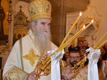 Hoy se llevó a cabo en la ciudad de Niksic, Montenegro, la Divina Liturgia Episcopal con la bendició