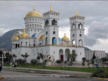 Fotos de la Consagración de la Iglesia de San Juan Vladimir en Bar - Montenegro