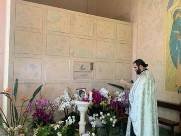 El Padre Nikita arribó a Guatemala para oficiar en el Monasterio de la Santísima Trinidad