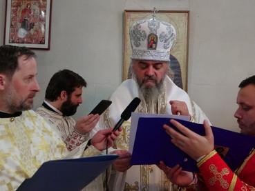 Бесједа новоустоличеног Епископа Кирила - Discurso del nuevo Entronizado Obispo Kirilo