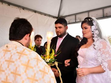 Casamiento del hijo del Protopresbítero Jario Carlos en Caruaru, Brasil