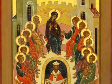 Pentecostés - Día de la Santísima Trinidad - Descenso del Espíritu Santo sobre los Apóstoles