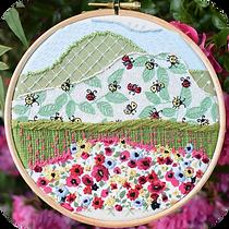 Ladybug Valley Stitchscape Kit.webp