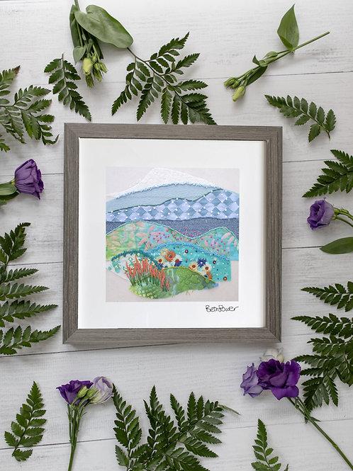 Emerald Isles Mounted Print