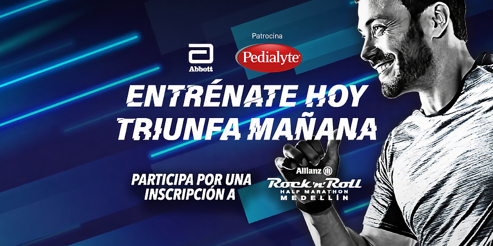 Programa Habituación Física presentado por Pedialyte: Allianz Rock 'n' Roll Half Marathon Medellín