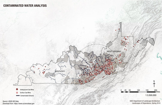 2.Contaminated Water Analysis in Kentucky and West Virginia