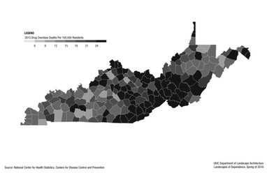 Fatal Overdose Rates by Region: Kentucky and West Virginia