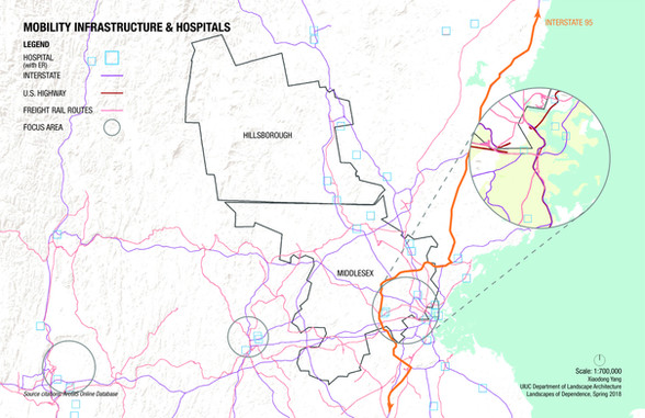 Infrastructure and Hospitals in Massachusetts and New Hamphire