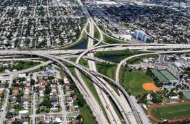 Interstate 95 in Miami