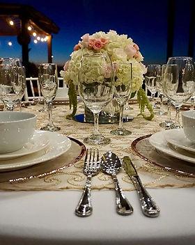 RoseGold Set Up_#wedding #setup #floral