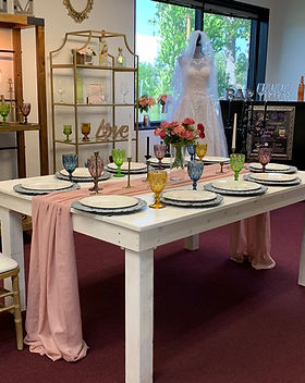 White Shabby Chic Table