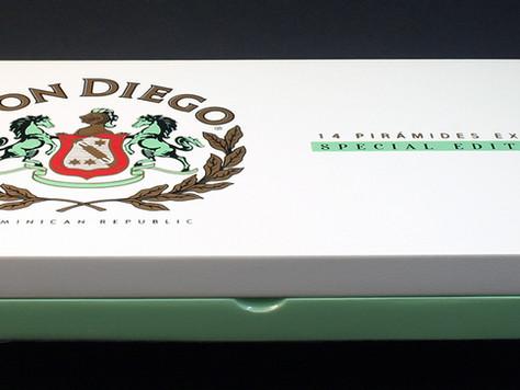NEU im Klimaraum: Don Diego Special Edition Piramides Extra