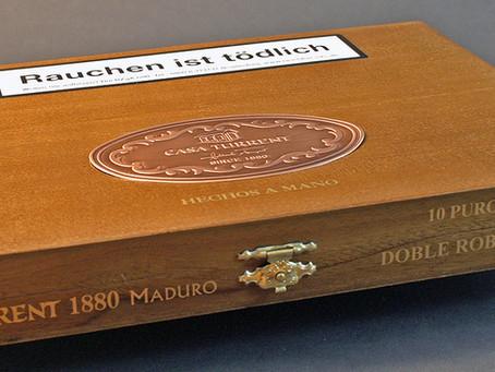 NEU: CASA TURRENT 1880 Doble Robusto  Puros aus Mexico