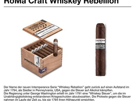 NEU: Whiskey Rebellion von Roma Craft Tobac