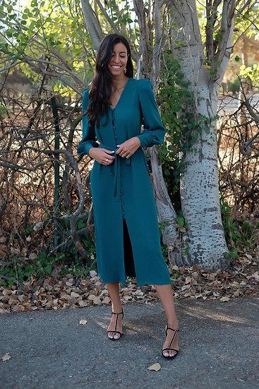 Vestido CLAVEL verde
