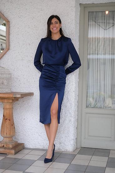 Falda CAMELIA azul