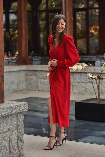 Vestido CLAVEL rojo