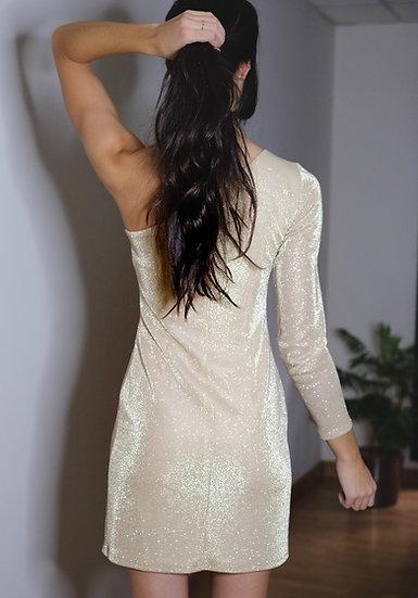 Vestido CAMPANILLA Dorado