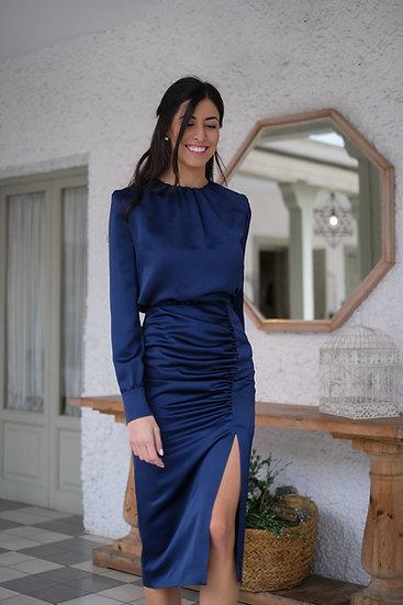 Blusa CAMELIA azul