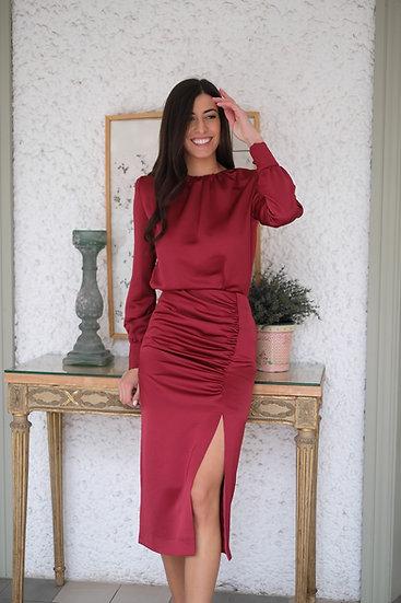 Falda CAMELIA roja