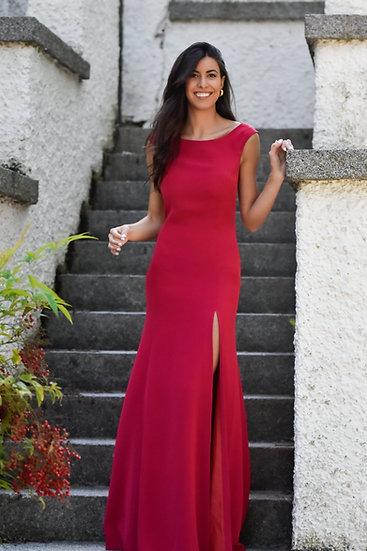 Vestido LIRIO Frambuesa